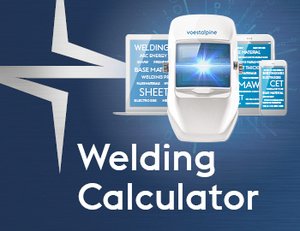 Voeastalpine Böhler Welding Calculator